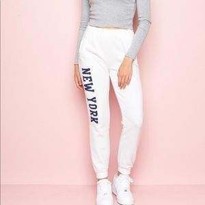 Brandy Melville New York sweatpants